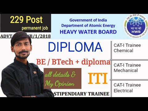 HWB recruitment 2018 | Stipendiary trainee 229 post | eligibility & my opinions