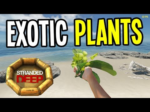 EXOTIC NEW PLANTS and DRUGS! - Stranded Deep Gameplay - Episode 8