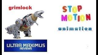 Grimlock Stop Motion Animation