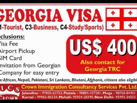 Crown Immigration YouTube Channel Georgia Visa, Evisa, Business Visa