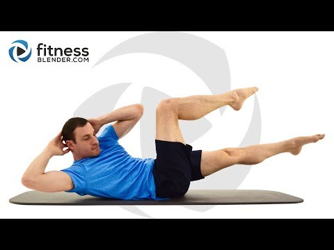 Fitness Blender 15 Minute Abs Workout - At Home Core Training without Equipment