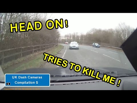 UK Dash Cameras - Compilation 5 - Bad Drivers, Crashes + Close Calls