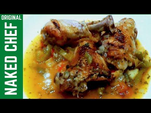 Mediterranean Chicken Stew How to cook food recipe