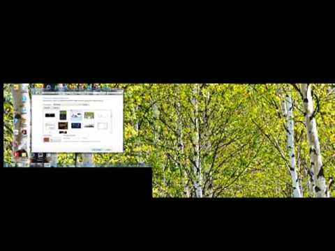 Apply a Dual Screen Desktop Wallpaper