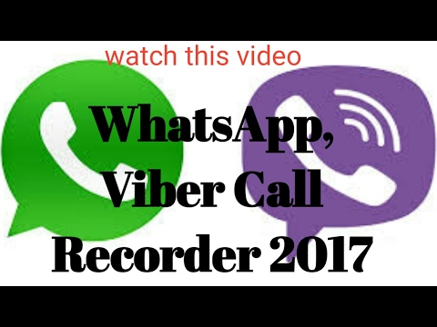 How to Record WhatsApp & Viber App CALLS malayalam