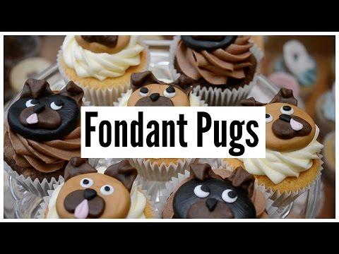 Pet Lamb Girls - Fondant Pugs