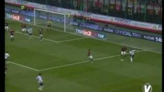Highlights: Milan - Cagliari 1-0. Serie A, 22/01/09