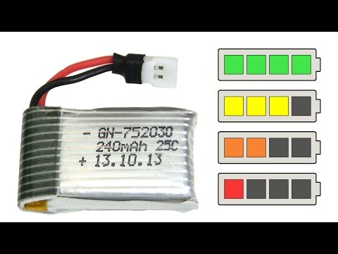 🔋 How to charge a LiPo battery with a power supply