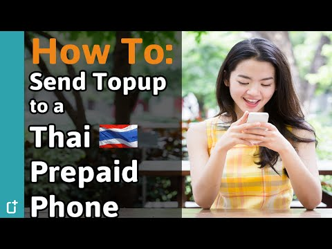 Getting mobile data credit on your Thai prepaid mobile device