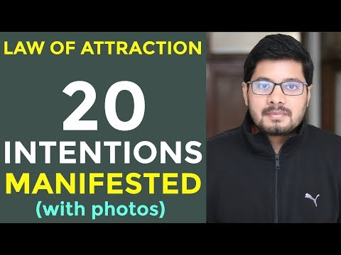 MANIFESTATION #70: Law of Attraction SUCCESS STORY with Photos & Proof | Multiple Intentions
