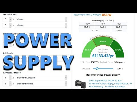 How to Select a Power Supply Unit for Your PC