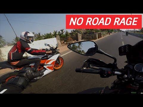 Avoid Road Rage   Benelli TNT 300