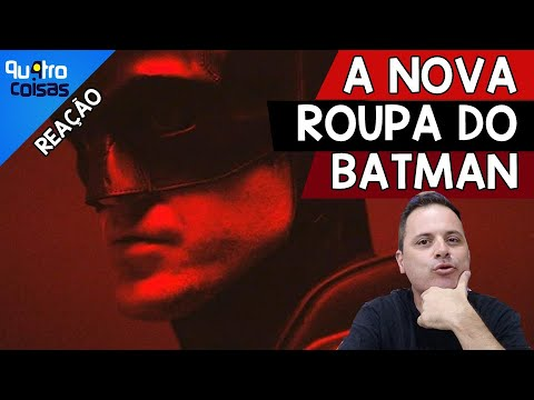 🦇 COMENTANDO O TRAJE DO DO BATMAN DE ROBERT PATTINSON