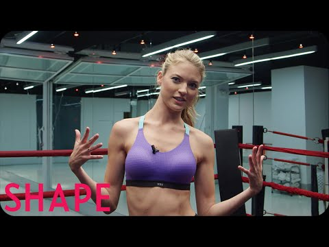 Victoria's Secret Angel Martha Hunt Work Out Interview | Shape