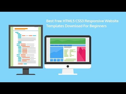 Best Free HTML5 CSS3  Responsive  website templates  download  for beginners 2017
