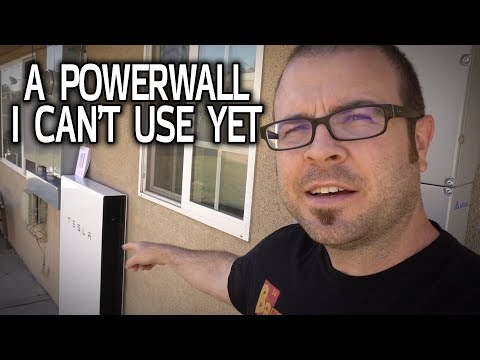 The Good, The Bad and the Powerwall - My Tesla Installation Part 2