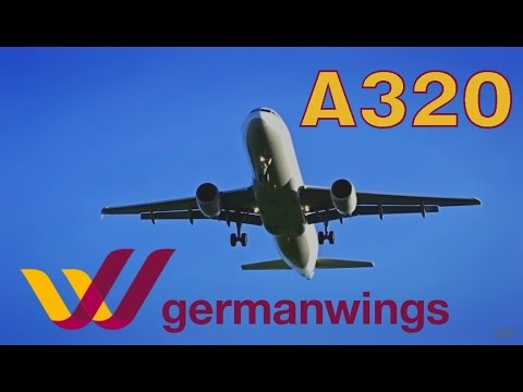 German Wings Airbus A320-211 |D-AIQM| Landing @ Zagreb Airport