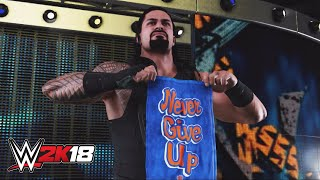 WWE 2K18 entrance mashup: Roman Reigns as John Cena