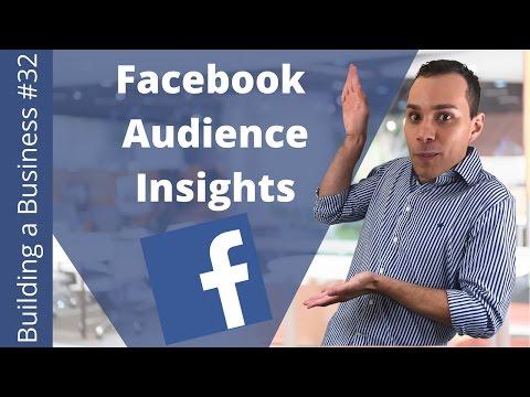 Facebook Audience Secrets Insights 101 - Building an Online Business Ep. 32