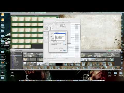 My Sound Settings for YouTube in iMovie 09