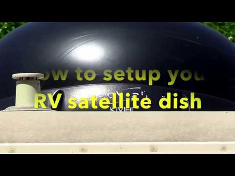 Setting up DISH in your RV