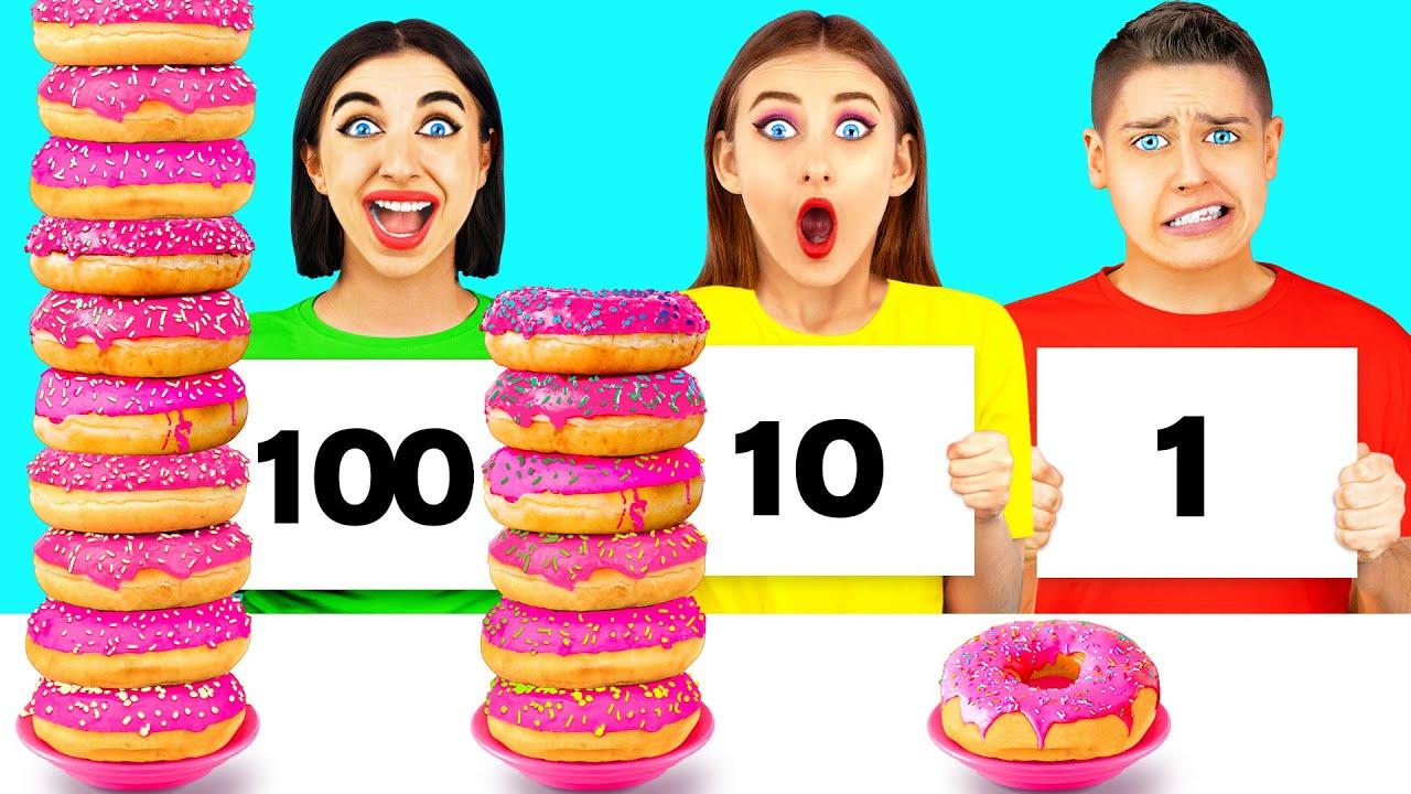 100 LAYERS FOOD CHALLENGE #3
