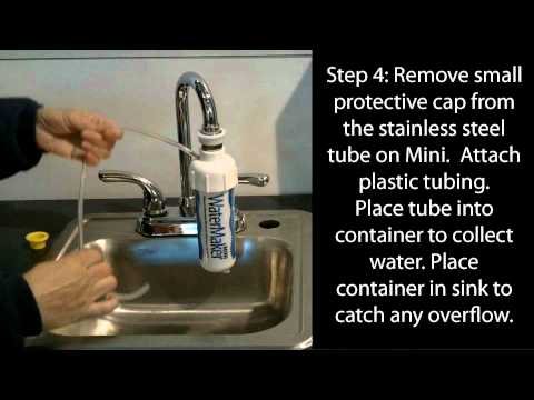 WaterMaker MINI faucet mount RO Installation -- Nimbus Water Systems