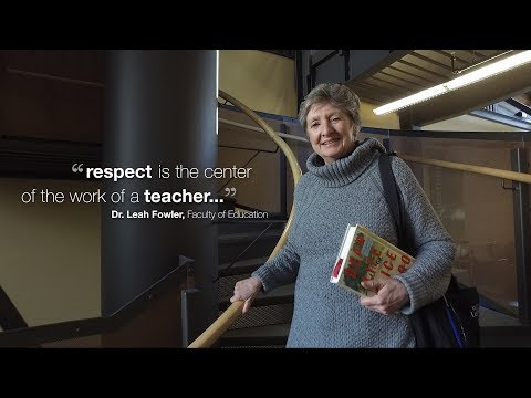 UofL - Great Teachers - Dr. Leah Fowler