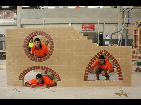Bricklaying Timelapse 'Arches'
