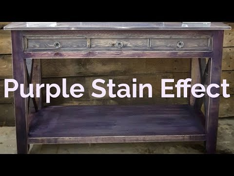How to create a purple stain effect