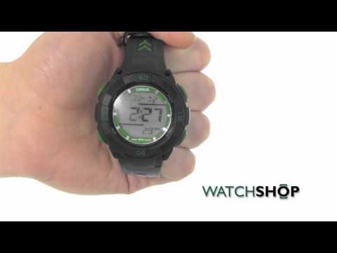 Lorus Men's Alarm Watch (R2373HX9)