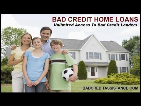 BAD CREDIT MORTGAGES ֎ HOW TO GET HOME LOAN WITH BAD CREDIT
