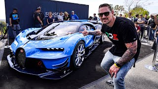 $8 MILLION BUGATTI VISION GT CAUSES CHAOS !! *Special Delivery*
