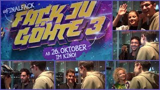 Fack ju Göhte 3 #finalfack Special Kinotour Berlin Part 1