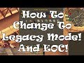 RS3 | How To Change To Legacy Mode And Revert To EOC!