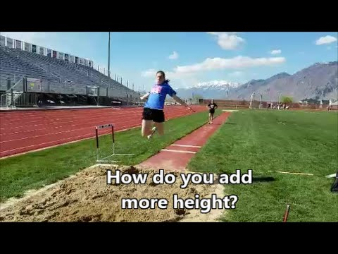 Long Jump Height Drills