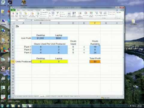 How to Install Microsoft Excel 2010's Solver Add-In