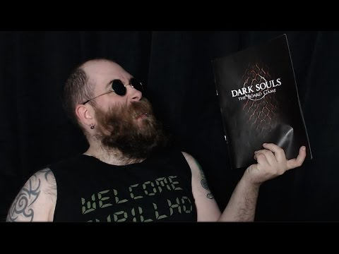 The Dark Souls board game rulebook is rubbish