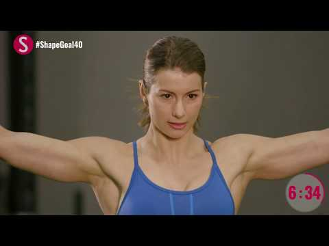 The 10-Minute Weight Training Workout | #CrushYourGoals with Jen Widerstrom | SHAPE