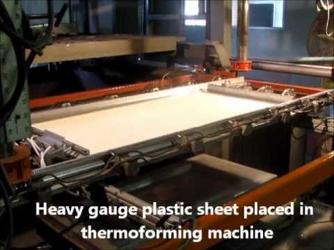 Vacuum Forming, Heavy Gauge Vacuum Thermoforming