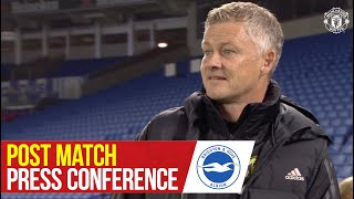 Solskjaer - 'A great night for us' | Post match Press Conference | Manchester United 3-0 Brighton