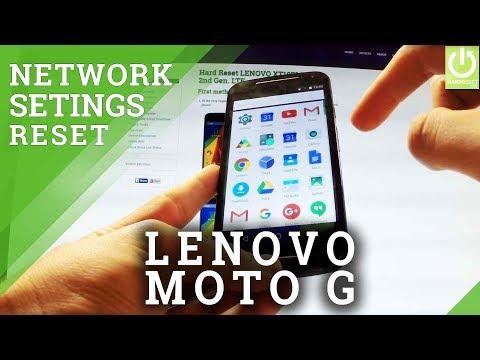 Reset Network Settings in LENOVO Moto G 2nd Gen - Restore Network