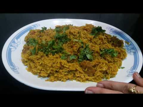 फेमस गोश्त की तहारी || Mutton Tahari || Maharashtra ki Tahari recipe || FULL Thaali