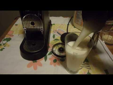 Nespresso Egg Nog Latte Recipe for Christmas - Festive Decaf Coffee Drink!