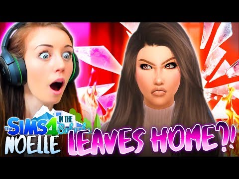 😡NOELLE HAS HAD ENOUGH!?😡 (The Sims 4 IN THE SUBURBS #24! 🏘)