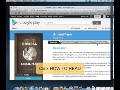 How to download Google Play ebook?