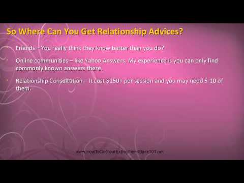 How To Get An Ex Boyfriend Back - Use Reverse Psychology To Get Him Back - Part 1