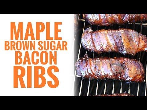 Maple Brown Sugar Bacon Ribs