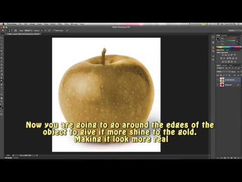 Creating Gold Objects | How to Photoshop Ep. 1