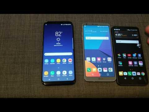 Samsung Galaxy S8 Plus vs LG G6 Comparison